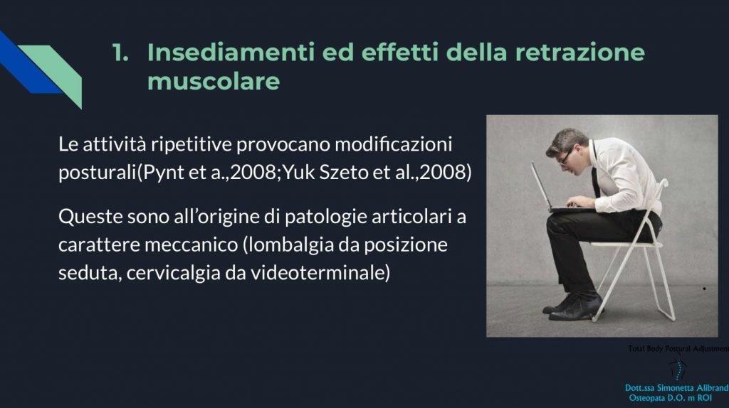 simonetta alibrandi osteopata osteopata roma posturologo postura corretta compensi retrazioni muscolari