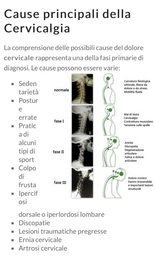 Simonetta Alibrandi Osteopata le cause principali della cervicalgia cosa può fare l'osteopatia