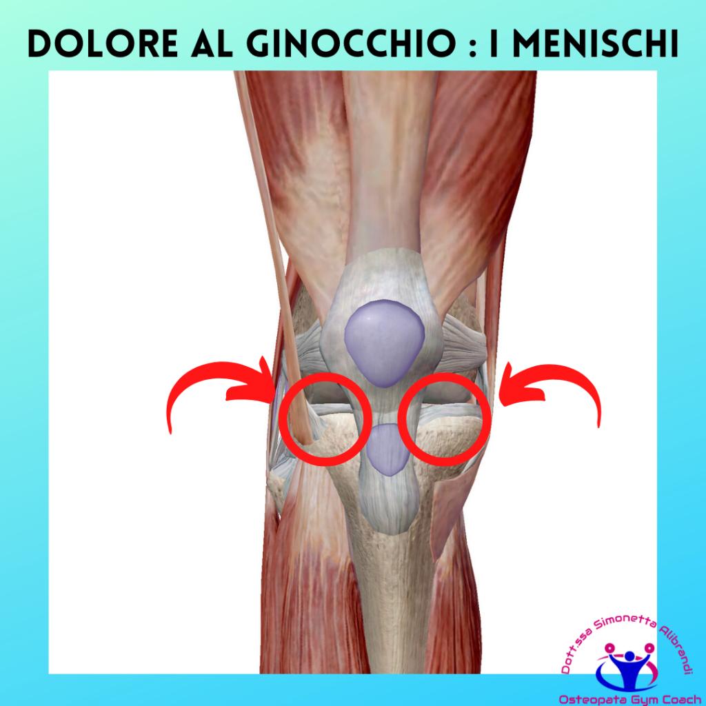 Simonetta alibrandi osteopata posturologo personal trainer rimedi esercizi Cause del dolore al ginocchio dovute alla corsa dolore al ginocchio i menischi